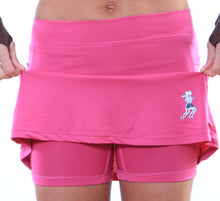 fuschia ultra athletic compressin shorts