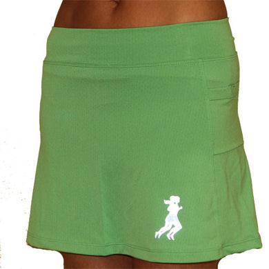 ultra swift running skirt clover green