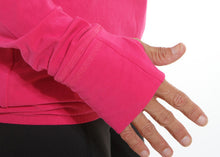 performance long sleeve cerise cuff