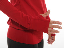 red performance long sleeve cuff