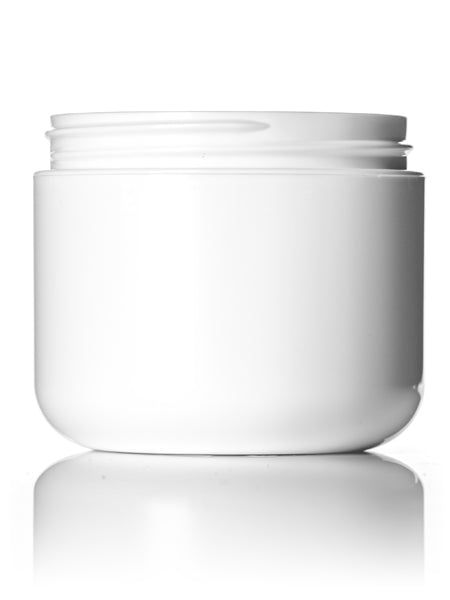 4oz Cosmetic Jar White