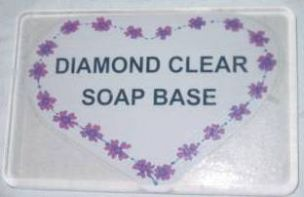 Soap Base Clear Diamond Melt and Pour