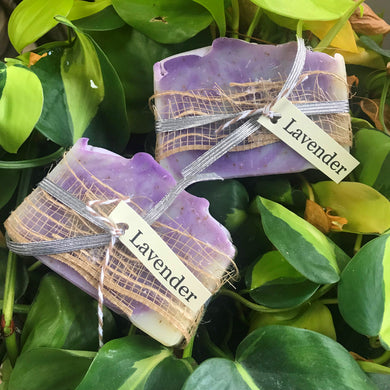 Lavender Essential Oil  Bath Soap