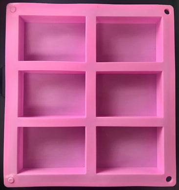 Soap Mold Rectangle Pink