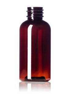 2oz Amber Bottle PET with 20-410 Neck