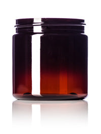 4oz Amber Jar Only PET 58-400