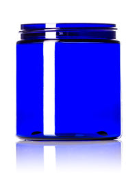 4oz Blue Jar PET Only