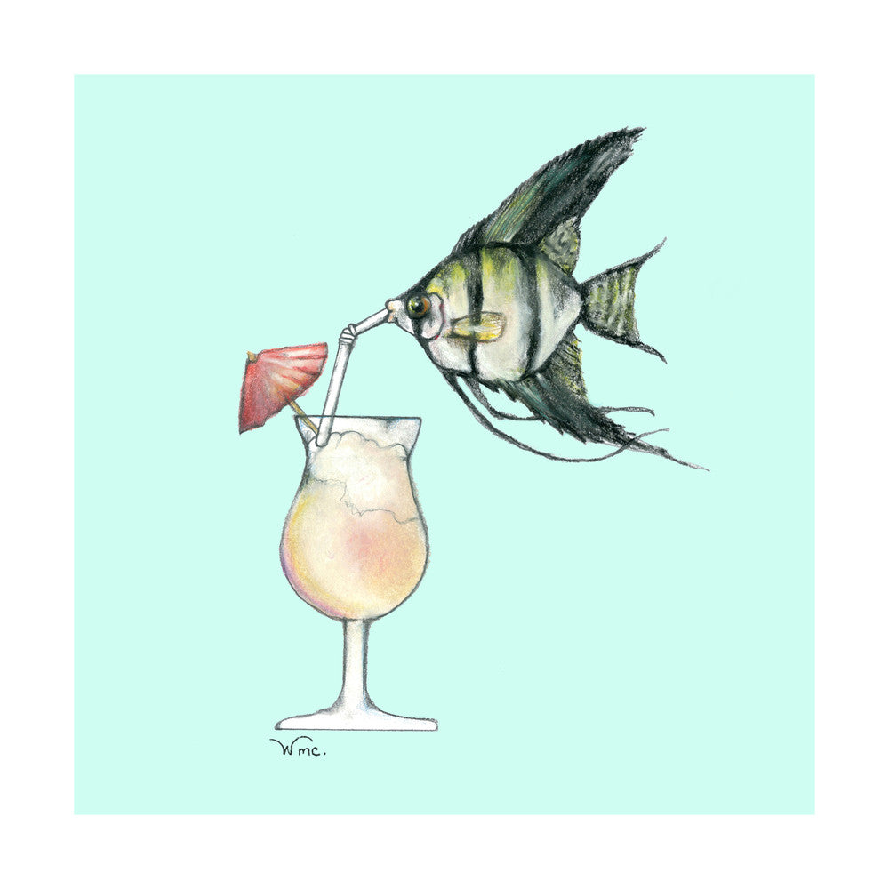 Angel Fish & Daiquiri