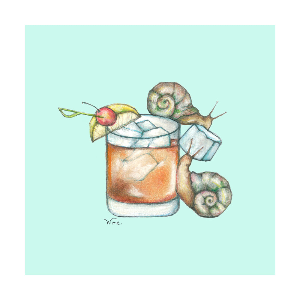 Snails & Old Fashioned