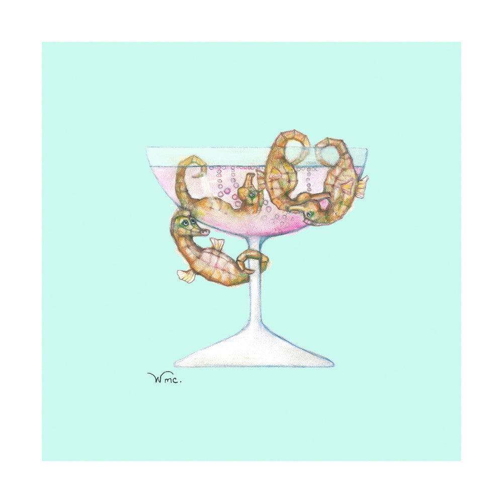 Seahorses & Champagne
