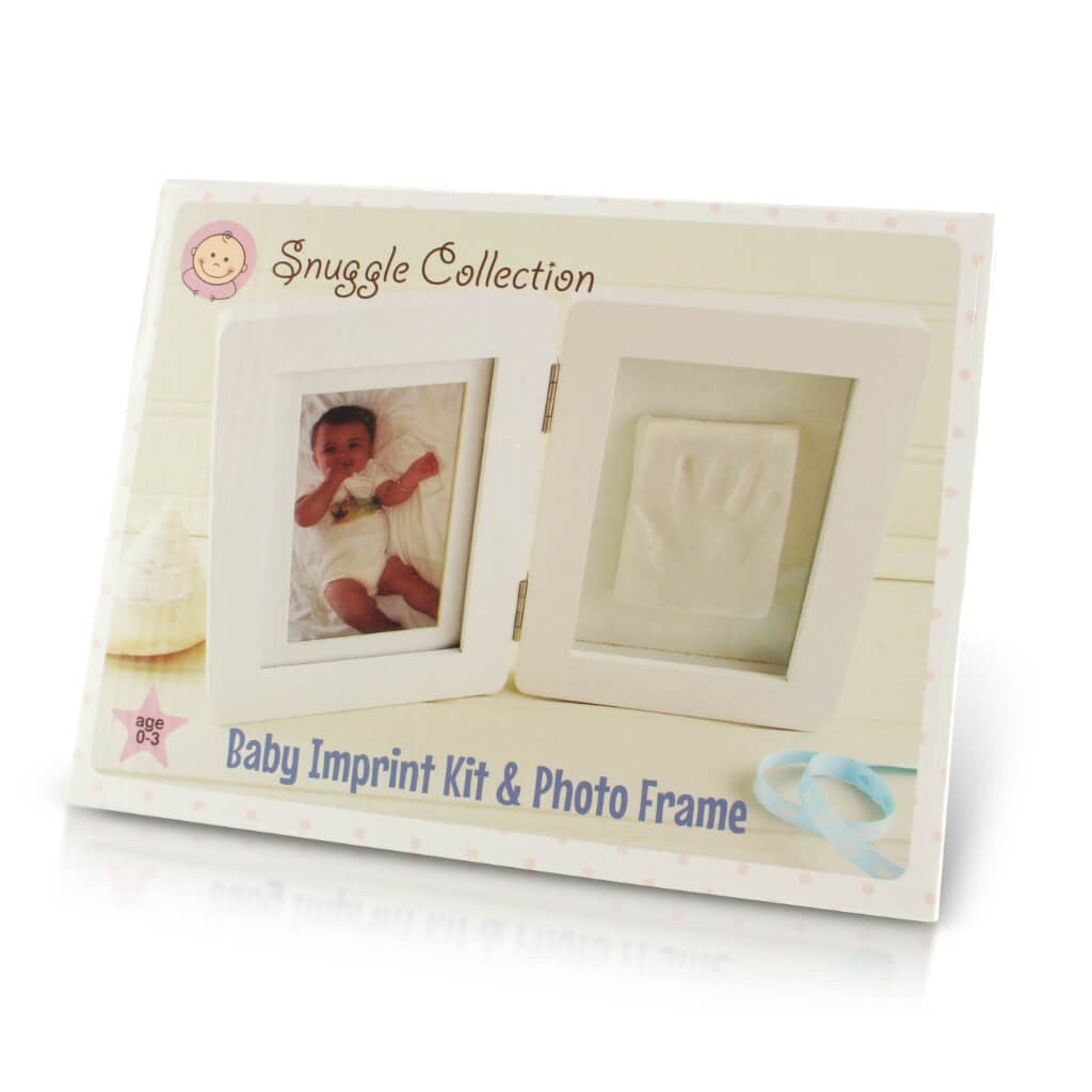 Front of Box | Personalised Baby Imprint Casting Kit And Photo Frame