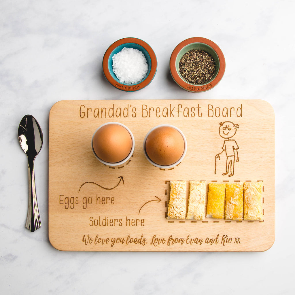 Personalised Name Space Ship Personalised Name Space Ship Take me to your Eggs Egg Breakfast Board