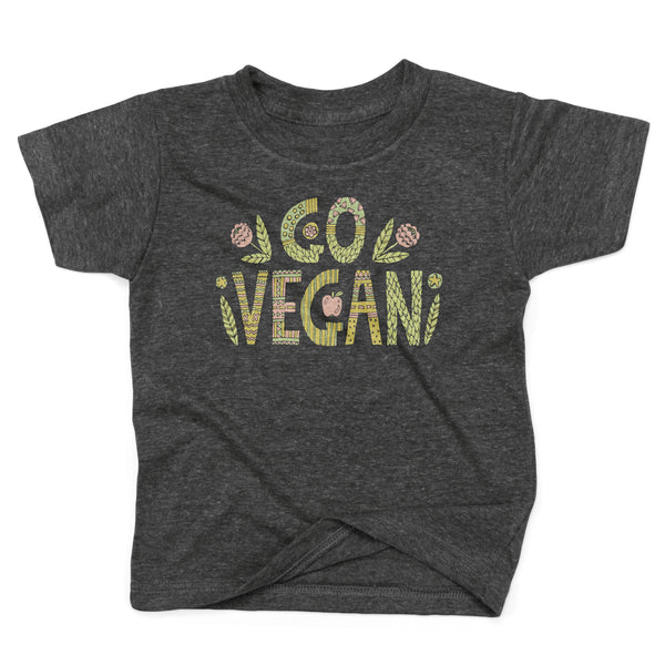 Go Vegan Organic Cotton Recycled Environmentally Friendly Babies Baby Shirt