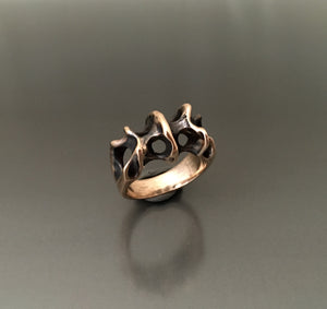 Ring Bronze Tide Pool - JACK BOYD ART STUDIO and RON BOYD DESIGNS