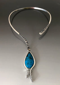 Sterling Silver and Kingman Turquoise - JACK BOYD ART STUDIO and RON BOYD DESIGNS