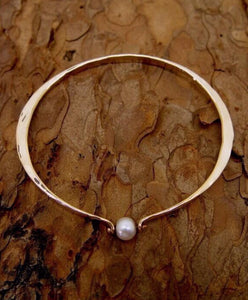 Bracelet 14k Rose Gold with Pearl