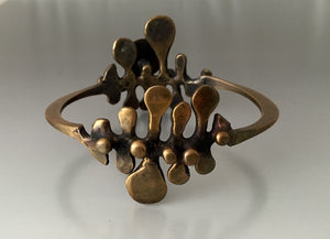 Vintage Bronze Bracelet - JACK BOYD ART STUDIO and RON BOYD DESIGNS