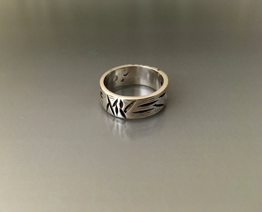 Storyteller Sterling Silver Ring - JACK BOYD ART STUDIO and RON BOYD DESIGNS