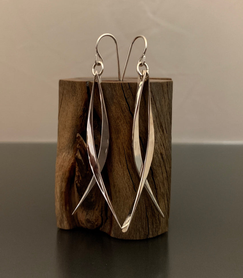 Sterling Silver Double Dangle Earrings