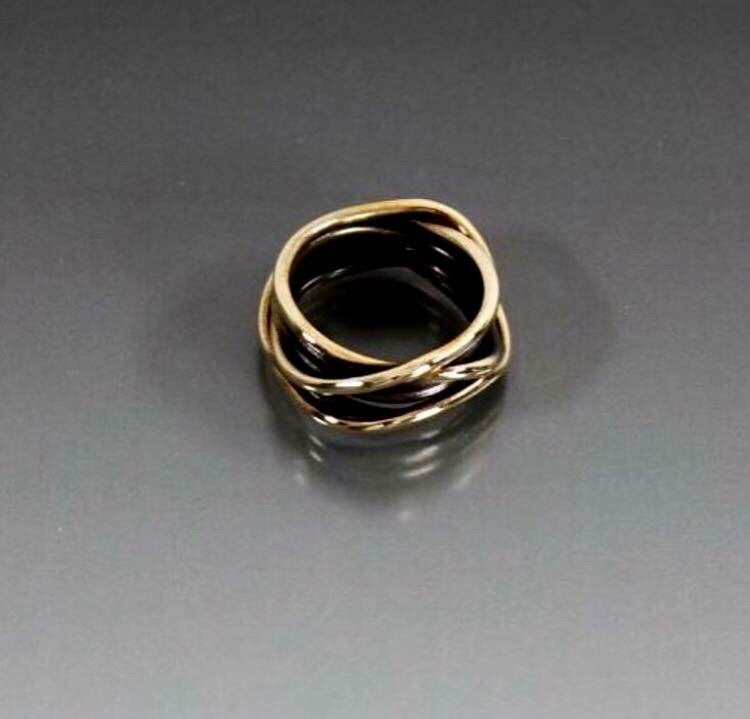 Men's Bronze Wrap Ring - JACK BOYD ART STUDIO and RON BOYD DESIGNS