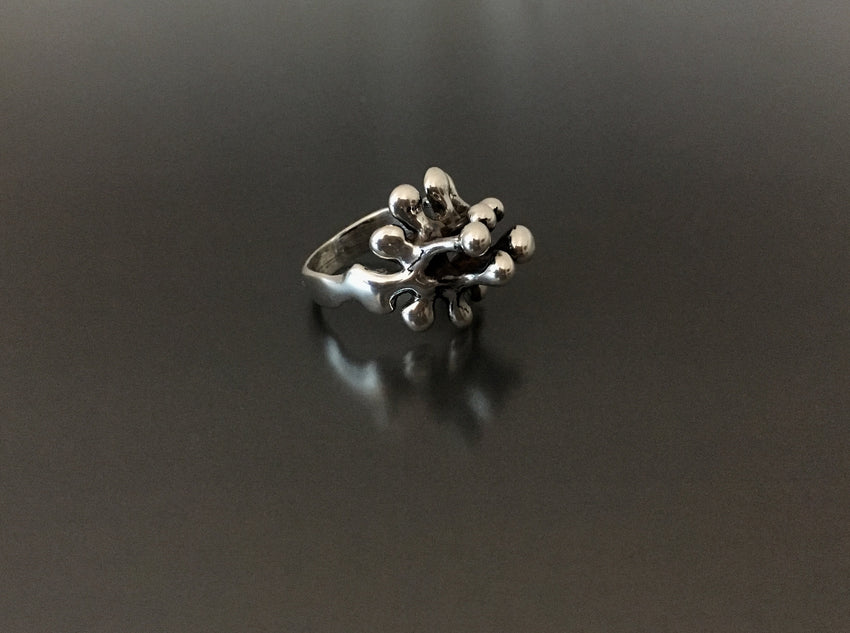 Boyd Sterling Silver Grapevines Ring