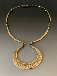 Vintage Bronze Necklace by Jack Boyd