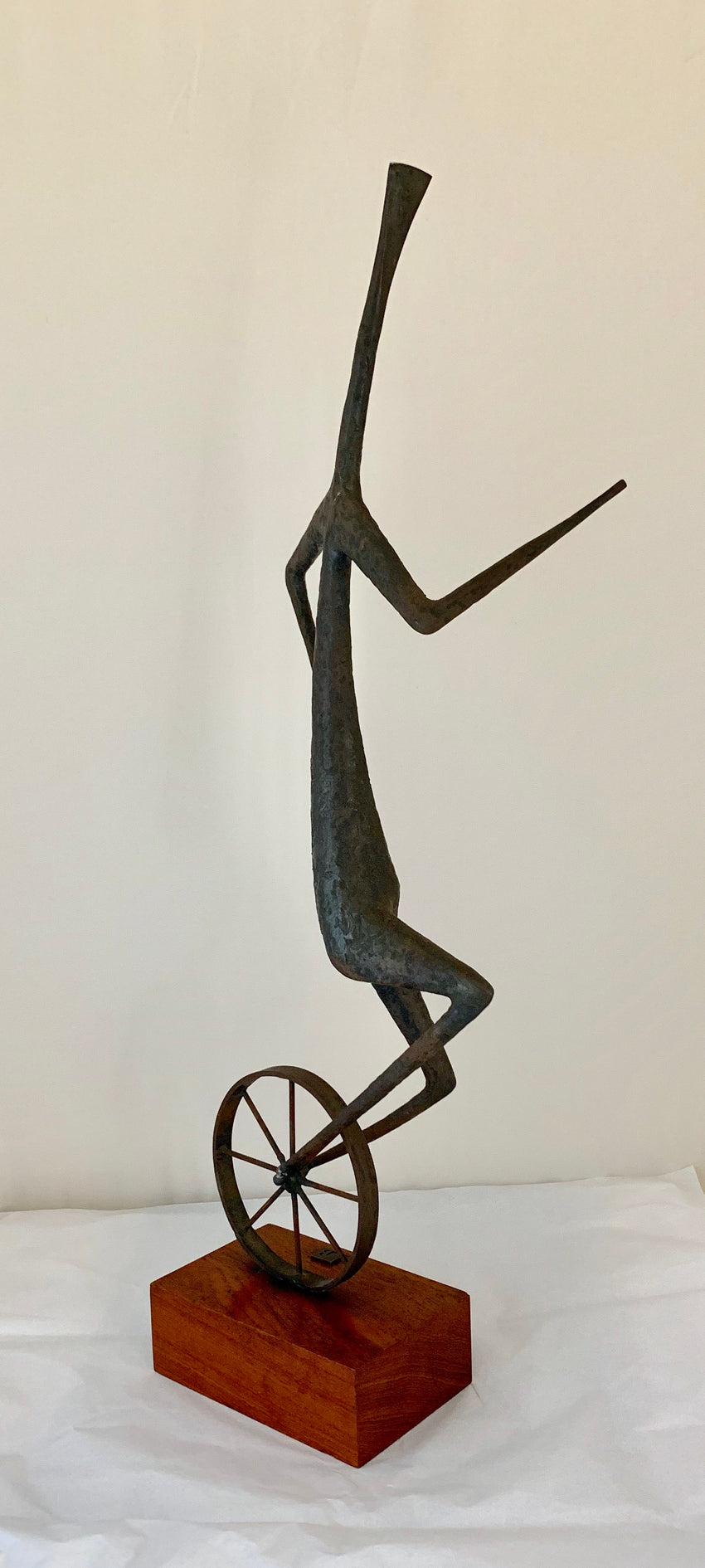 Vintage Unicycle Sculpture