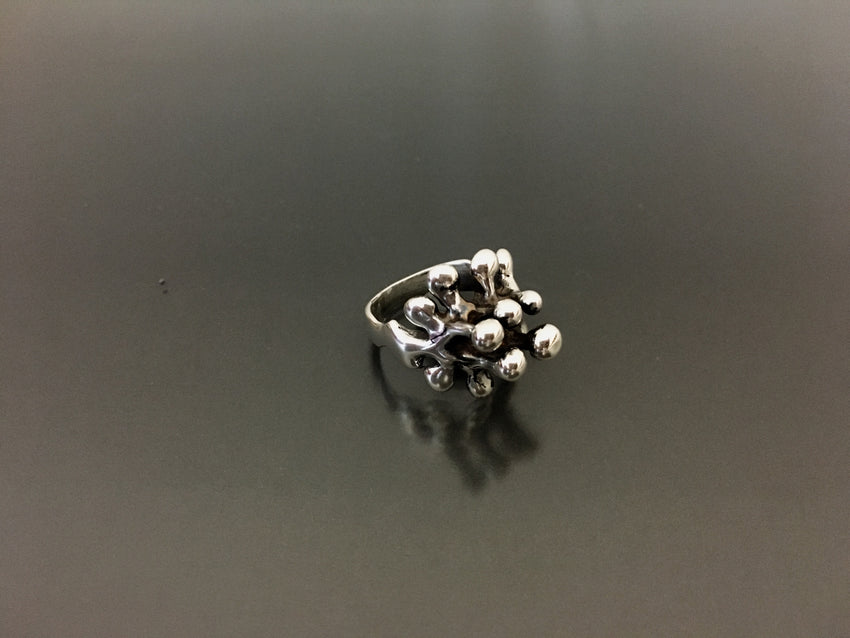 Boyd Sterling Silver Iconic Bubble ring