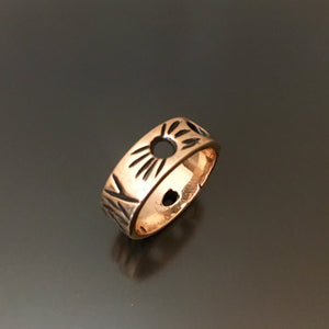 Storyteller Bronze Ring - JACK BOYD ART STUDIO and RON BOYD DESIGNS