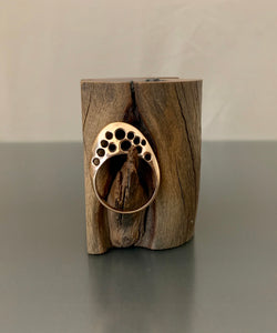 Ring Bronze Domed