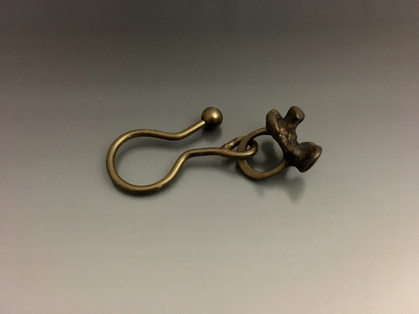 Vintage Bronze Key Ring