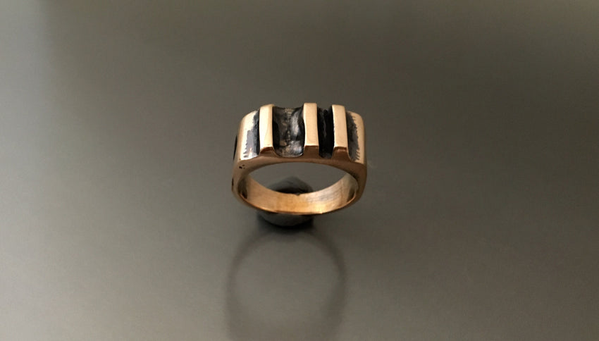 Ring Bronze Band - JACK BOYD ART STUDIO and RON BOYD DESIGNS