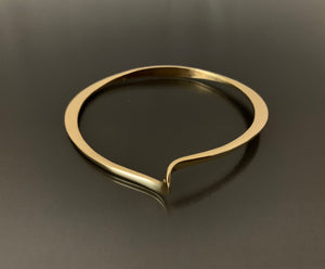 Bracelet Bronze Oval with Twist