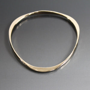 Bronze Triangle Shape Bracelet - JACK BOYD ART STUDIO and RON BOYD DESIGNS