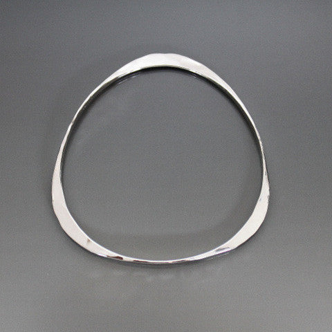 Sterling Silver Triangle Shape Bracelet - JACK BOYD ART STUDIO and RON BOYD DESIGNS