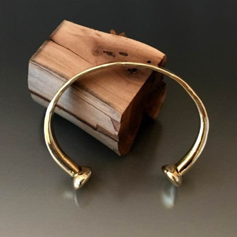 Timeless Bronze Cuff - JACK BOYD ART STUDIO and RON BOYD DESIGNS