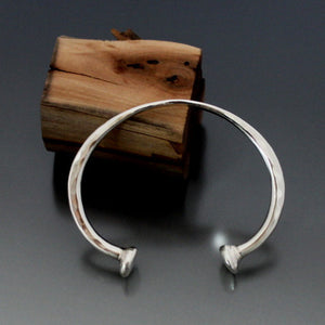 Timeless Sterling Silver Cuff - JACK BOYD ART STUDIO and RON BOYD DESIGNS