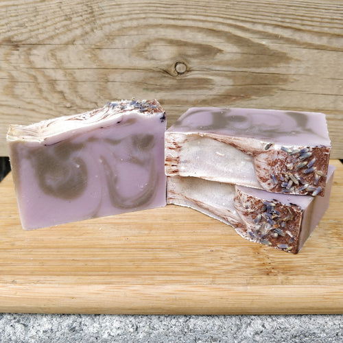 Chocolate Lavender Bar