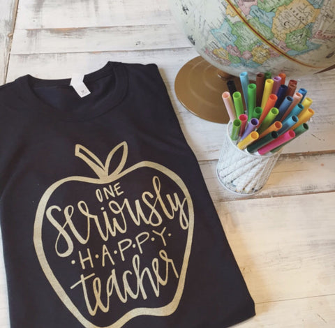 One Seriously Happy Teacher Tee