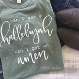 Can I Get A Hallelujah Unisex Keeper Tee