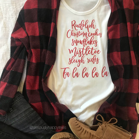 Christmas Favorite Things Keeper Tee