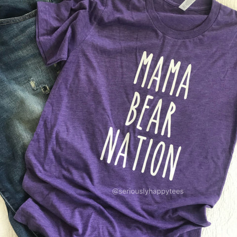 Cherokee Bluff Mama Bear Nation Unisex Tee