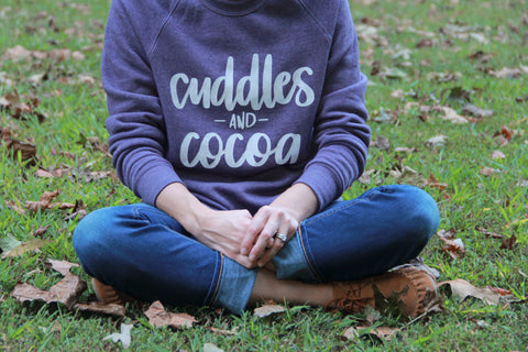 Cuddles and Cocoa Unisex Champ Fleece