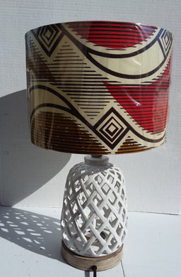 Waxprint Lampshade