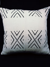 Mudcloth White and Black X