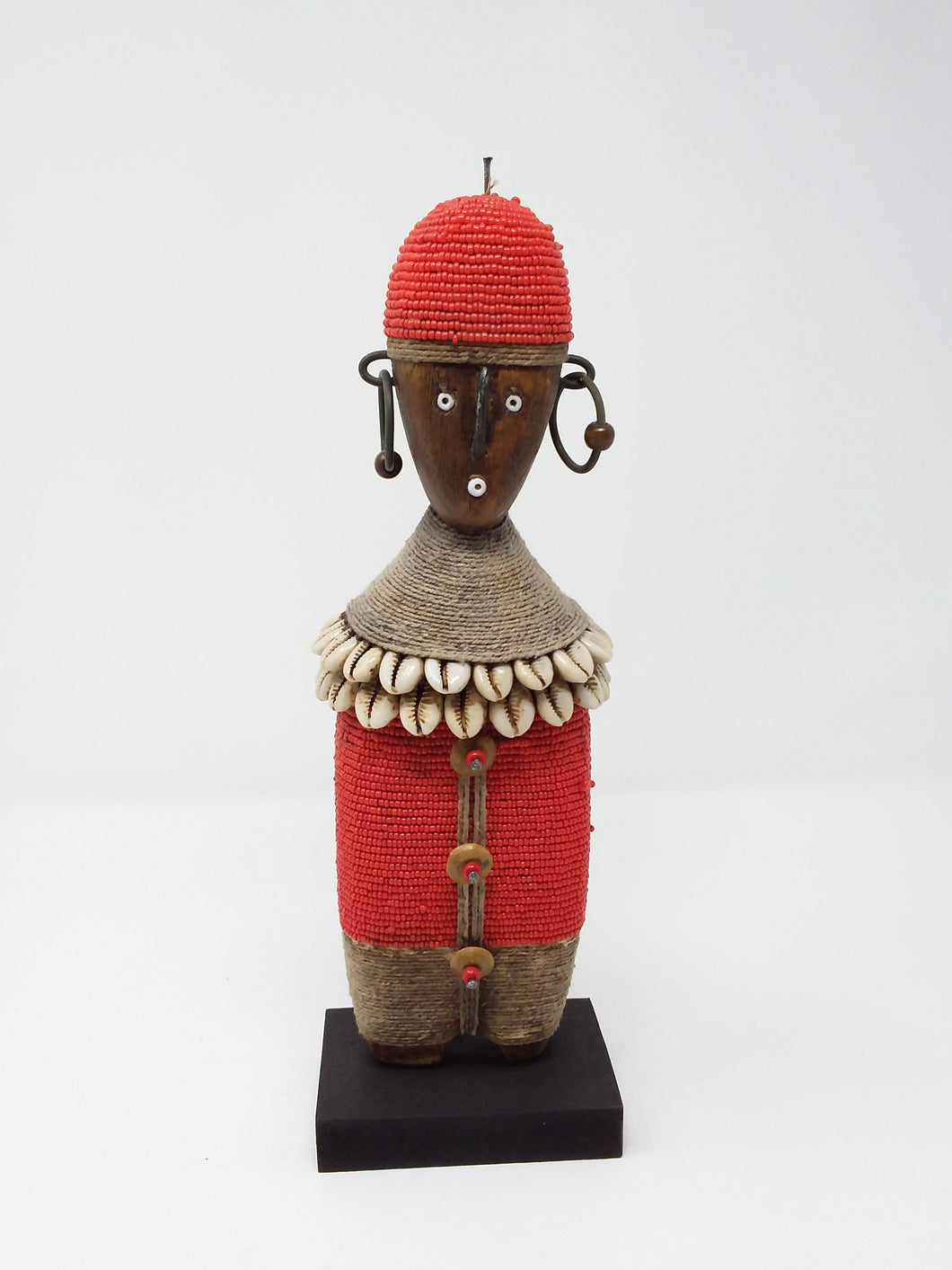 Small Red Namji Doll
