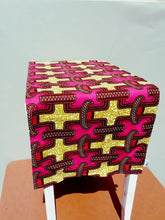 Pink and Brown Tablerunner