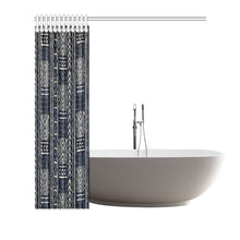 Mudcloth Shower Curtian