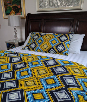 umenki waxprint bedding - TheAfroChicBoutique