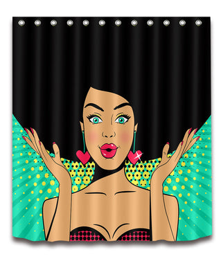 African American Shower Curtain - TheAfroChicBoutique